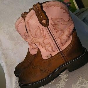 Justin Gypsy Boots Used Sz 8 1/2 B
